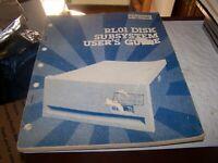 digital RL01 DISK SUBSYSTEM USER'S GUIDE  EK-RL01-UG-002 - 1978
