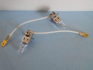 Halogen H3-55W Fog Light & Driving Light Bulb Set of (2) - OEM Japan Brand