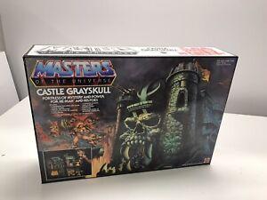 Motu Masters Universe Castle Grayskull Repro Empty  Replica Custom Scatola Vuota