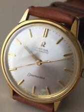 Omega Seamaster automatique or 80 µ Montre-bracelet Cal 552