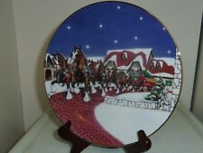 Grant's Farm Holiday Anheuser Busch 1998 Christmas collector plate N5780