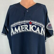 Majestic Authentic American League 2008 All Star Game Jersey MLB Baseball Sewn L