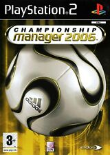 Championship Manager 2006 PS2 (PlayStation 2) - Free Postage - UK Seller