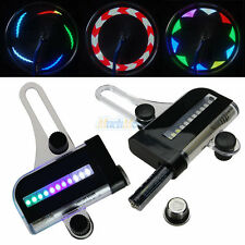 22 LED Motorcycle Cycling Bicycle Bike Wheel Signal Tire Spoke Light 30 Changes