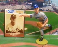 "1989 DON DRYSDALE -Starting Lineup ""Baseball Greats"" Figure & Card - L.A DODGERS"