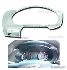 CHROME METTER DASH GAUGE COVER TRIM Fit TOYOTA HILUX REVO SR5 M70 M80 2015 2016