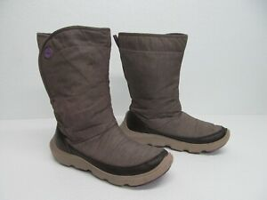 Crocs Womens Duet Busy Day Boot  Fleece Lining Size 7