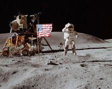 Apollo 16 John Young Springend Gruß On Moon 8x10 Silber Halogen Fotodruck