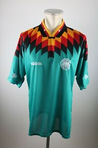 Germany Jersey Size L adidas Jersey 1994 World Cup Away 90er DFB Germany Green