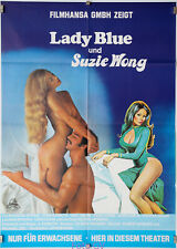 Filmplakat Lady Blue und Suzie Wong/Legend of Lady Blue 1978 Faye Young