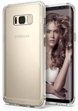 Samsung Galaxy S8 Case, Ringke [Fusion] Crystal Clear Transparent Case with Shoc