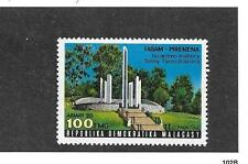 Madagascar  Malasasy  National Masoleum Sc# 580 MNH