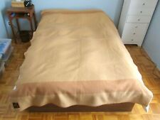 EUC Rare Vintage Eatons Trapper 3.5 Point Blanket Gold All Wool Made In England