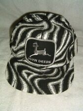 VTG K Products John Deere Patch Tiger Animal Print Camo Snapback Trucker Hat