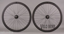 H Plus Son SL42 & Formation Face Black Track Bike Fixed Gear Wheelset fx/fx