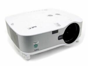 NEC NP2000 LCD Beamer 1024x 768 Xga 4:3 4000 Ansi Lumen Projector Defective/