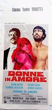 locandina playbill Donne in amore alan bates oliver reed
