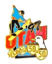 1997 Utah Collectible State Pin Exclusive Quest for the Best 50 in 50 QVC EUC