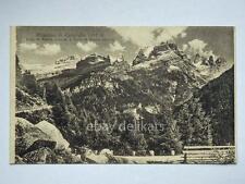MADONNA DI CAMPIGLIO cima Torre Brenta dolomiti alpi Trento vecchia cartolina