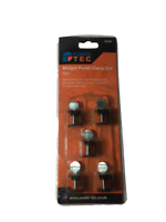 Power Tec Midget Panel Clamp Set 5pc