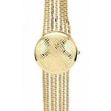AK Anne Klein Women AK-1040CHCV Gold Tone Bracelet Mirror Inside Watch