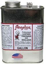 1 Gallon Angelus Leather Preparer Deglazer for Leather Care Cleaner/Stripper