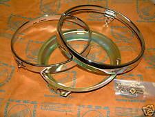 Honda CB 500 550 750 Four chrome rim head light ring headlight set