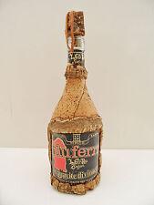 BOUTEILLE ALCOOL THYPIQUE DE SARSAIGNE DECORATION LIEGE VERITABLE COLLECTOR