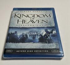 Kingdom of Heaven (Blu-ray Disc, 2009, Director's Cut) Ridley Scott - NEW K3