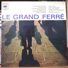 LEO FERRE LE GRAND FERRE FRENCH LP DISQUES CBS OSX 216