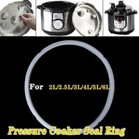 Clear Silicone Rubber Gasket Sealing Ring Replacement for Pressure Cooker 2-6L