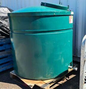 Ecosure 1300 Litre bunded heating oil / diesel tank with filter valve