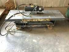 Pentalift 68 X 24 Hydraulic Scissor Lift Table 4000lbs 1hp 3ph 230460v