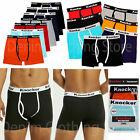 Lot of 2 4 6 Pack Men's Boxer Briefs Stretch Cotton Multi Color Underwear Trunk