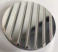 Finned Fully Polished Billet Aluminum Radiator Cap 16lb