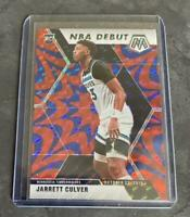 2019-20 PANINI RC JARRETT CULVER MOSAIC NBA DEBUT BLUE REACTIVE PRIZM