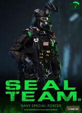 Mini 1/6 veces Toys M013 Us Navy Seal Team B Halo con perro Figure full set