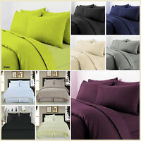Fitted Sheet T-300 Egyptian Cotton Sateen Premium Quality Depth 8-9 Inch Approx
