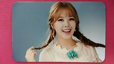 SONAMOO HIGH D Official Photocard #1 3rd Album I LIKE YOU TOO MUCH HIGH.D 하이디