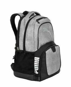 "PUMA Challenger Backpack Padded 15"" Laptop Pocket School Travel Bag Great Gift"