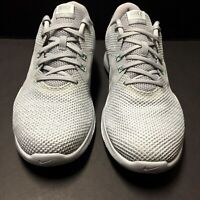 Nike Womens Flex Trainer 8 Gray Athletic Training Comfort Running Shoes Size 9.5