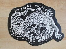 Autocollant IMPORT-MUSIC C.C Belle Epine Thiais / C.C. Velisy 2