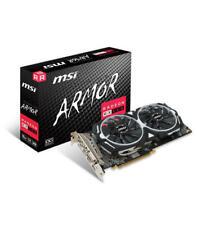 MSI Radeon RX 580 Armor 8G OC 8GB GDDR5 Tarjeta Gráfica (V341-064R)