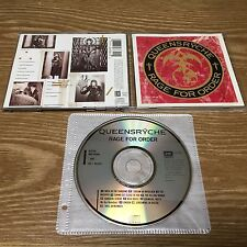Queensryche - Rage for Or [1CD, US 1st Press] Progressive, Dream Theater