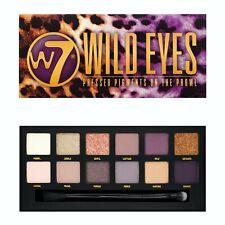W7 Wild Eye! Eyeshadow Palette - Eye Shadow Pastel Pink Yellow Purple Matte Shim