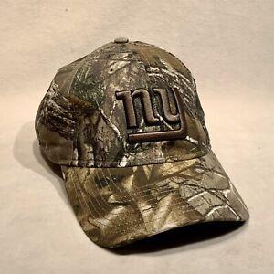 NEW NY Giants Adjustable Camo Hat by New Era