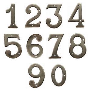 Hausnummer Nummern Industrial Zahl Zahlen Ziffern Schmiedeeisen Hausnummern