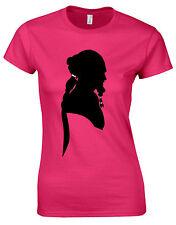 Khal Drogo dothraki Arte Semental Mundo Sombra Silueta señoras camiseta af74