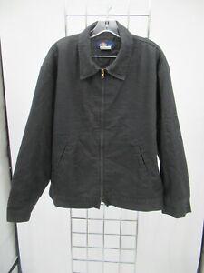 I7218 VTG Men's Dickies Full Zip Eisenhower Quilt Lined Jacket Size L