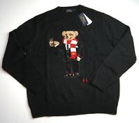 POLO RALPH LAUREN Men's Polo Cocoa Bear Cotton Blend Pullover Sweater NEW NWT